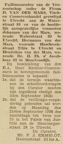 Advertenties Familie van der Mars/Faillissementen.jpg